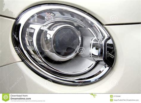 fiat headlights 500 abarth headlight royalty free stock image image