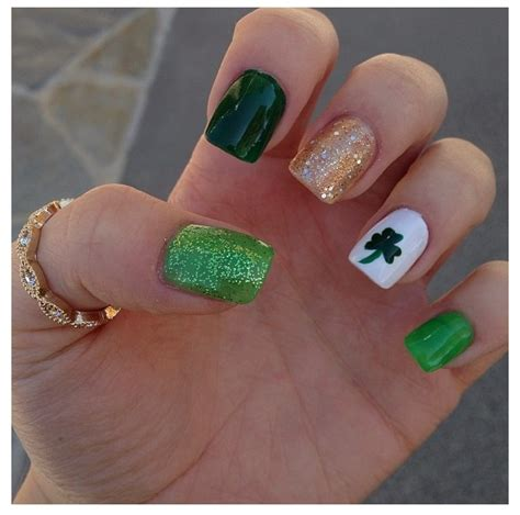 st nails 17 best images about st s day nails on