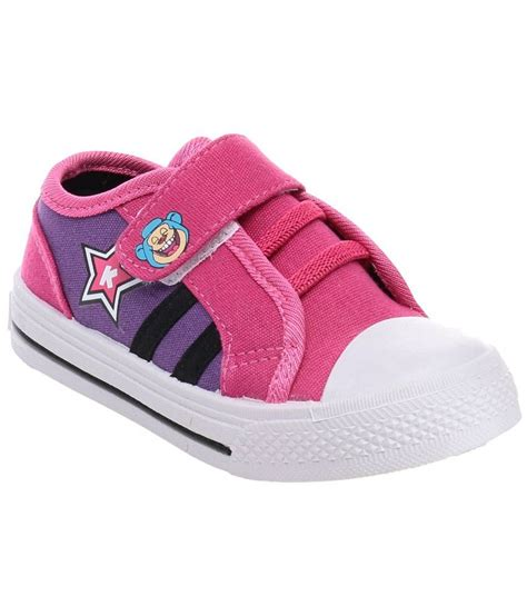keymon pink blue canvas shoes for price in india