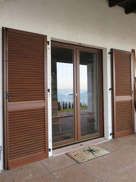 persiane moderne stunning persiane alluminio decorate noce scuro with