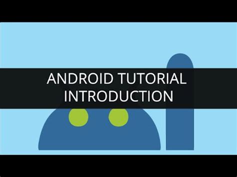 android tutorial youtube playlist android tutorial advanced android concepts part 6 youtube