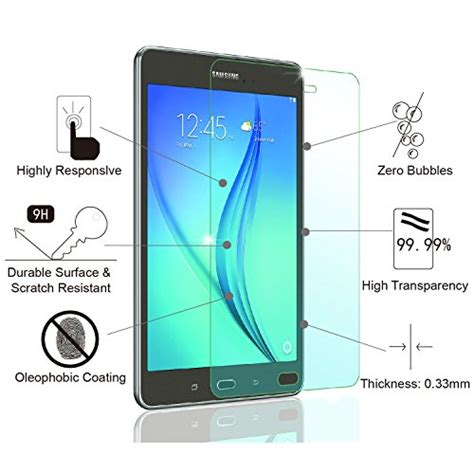 Tempered Glass Samsung Tab A 80 Incht350newscreen Protectorkaca galaxy tab a 8 0 screen protector glass amfilm tempered glass import it all