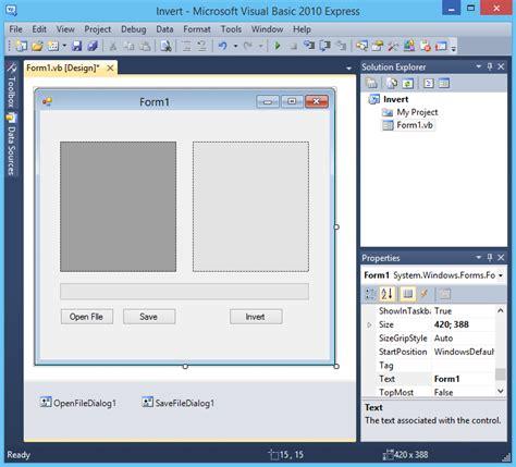 membuat aplikasi form dengan html membuat aplikasi pengolahan citra invert gambar dengan