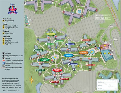 all resort map preferred rooms disney s all resort walt disney world made easy for everyone