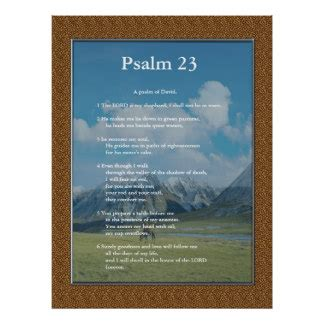 no soul required poster zazzle scripture template psalm 23 print