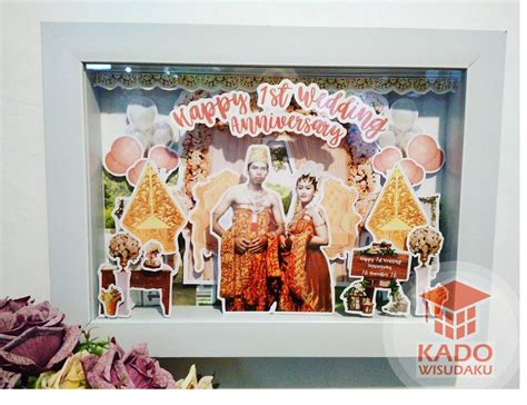 Scrapframe Kado Ulang Tahun Anniversary Pernikahan jual scrapframe pernikahan jogja kado wisudaku