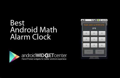 math alarm clock app aw center