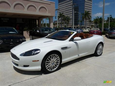 White Aston Martin Db9 by 2009 Stratus White Aston Martin Db9 Volante 29137533