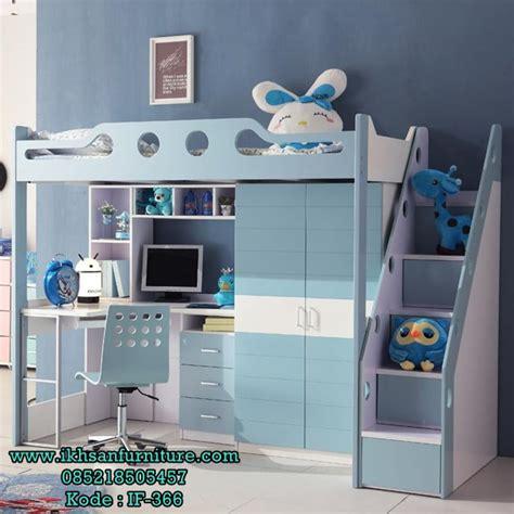 Kasur Anak Laki Laki jual tempat tidur tingkat anak laki laki multifungsi