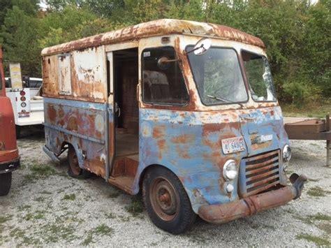 mail truck for sale 1957 chevrolet stepvan gerstenslager ex u s mail delivery