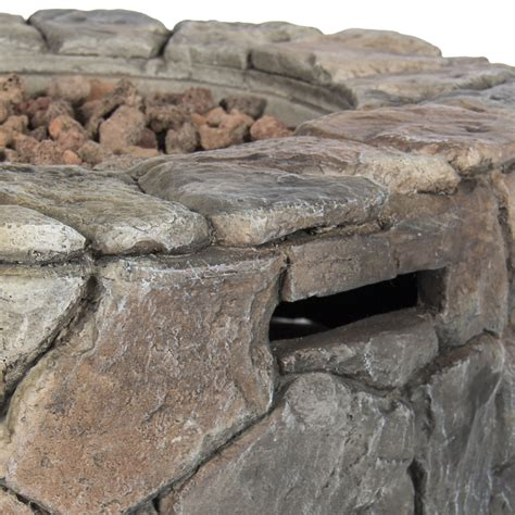 Bcp Stone Design Fire Pit Outdoor Home Patio Gas Firepit Ebay Firepit