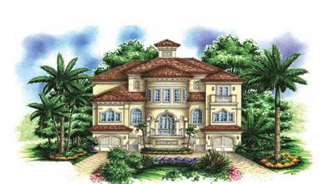 mediterranean house plan for beach living ideas for the 3 story mediterranean house plans beautiful two story