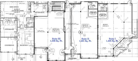 retail space floor plans commercial rentals short term lease waunakee