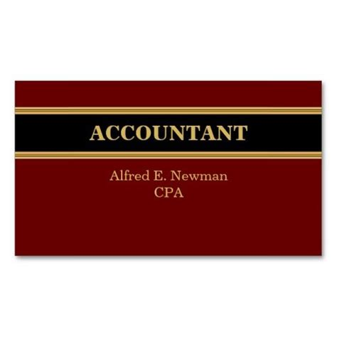 Chartered Accountant Business Card Template by 232 Best Accountant Business Cards Images On