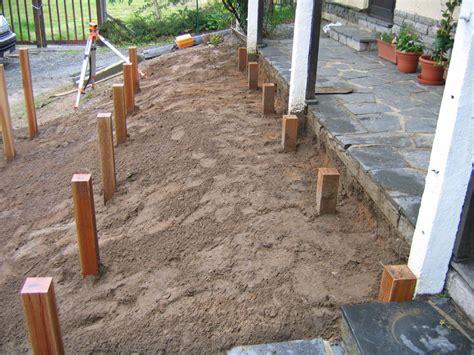 terrasse drainage drain terrasse bois wraste