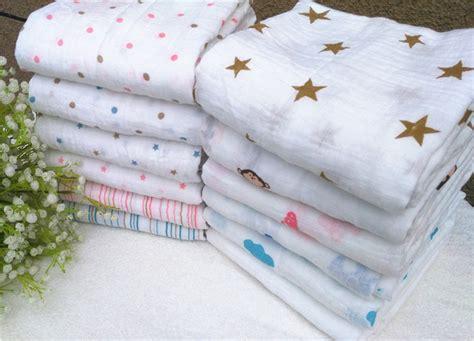 Swaddle Cotton 100 Motif Kemah muslin blanket baby infant newborn blanket baby wrap baby swaddle 100 cotton towel in blanket