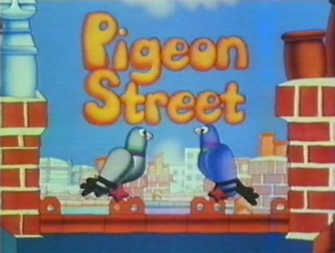80s themes cartoons pigeon street do you remember