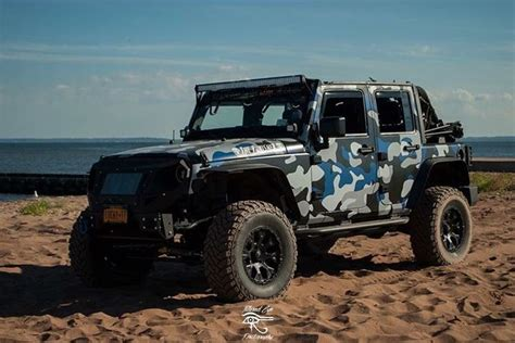 blue camo jeep 1000 images about 4x4ever jeep on