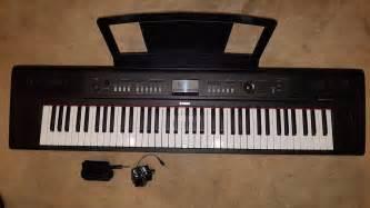Keyboard Yamaha Np V80 yamaha np v80 piaggero 76 key digital keyboard 163 130 00