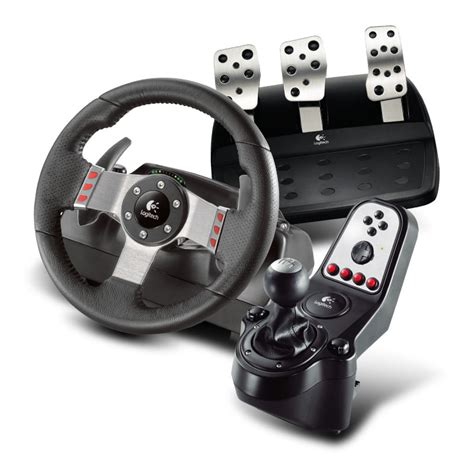 volante logitech ps3 logitech g27 racing wheel pc simulation automobile pc
