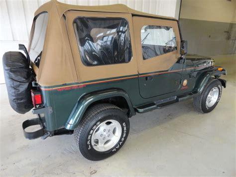 car owners manuals for sale 1994 jeep wrangler parental controls 1994 jeep wrangler yj sahara 1 owner 59k actual miles classic jeep wrangler 1994 for sale