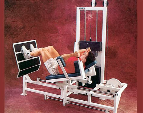 cybex classic leg press used fitness equipment