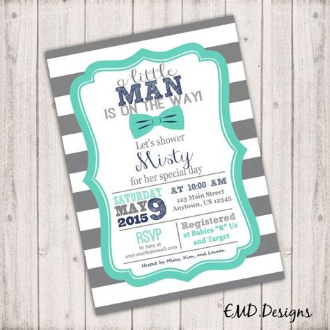 printable rugby invitations printable gray rugby stripe teal navy blue by
