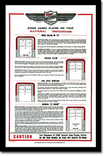 how to play table shuffleboard table shuffleboard zieglerworld com