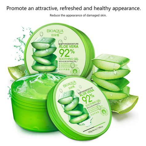 Bioaqua Mask Aloe Vera Gel bioaqua aloe vera smooth gel acne treatment
