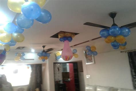simple balloon decoration for birthday at home 1000 simple birthday decoration ideas at home quotemykaam