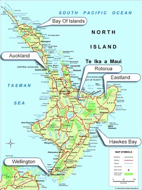 printable road map north island new zealand 19 best nz north island images on pinterest beautiful
