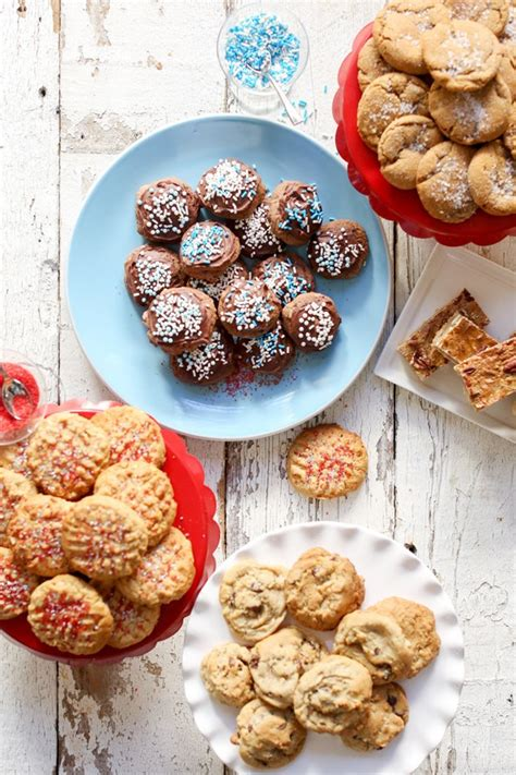 kara s party ideas holiday recipe 5 different cookies