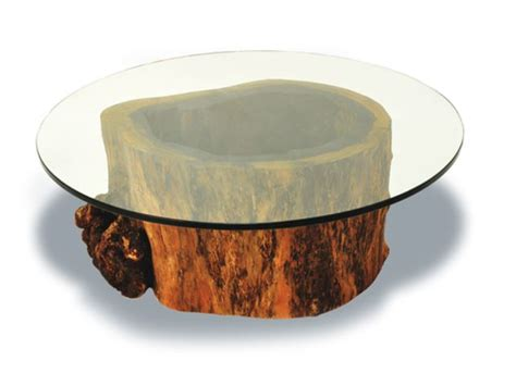 tree trunk glass coffee table tree trunk coffee table glass top coffee tables guide
