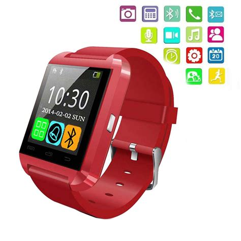bluetooth smart watch wristwatch u8 fit for smartphones u8 bluetooth smart watch phone mate for android ios iphone