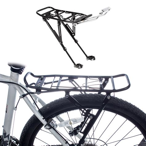 Rear Rack Bicycle by Bike Bicycle Cycling Release Rear Rack Seat Post Pannier Carrier Luggage