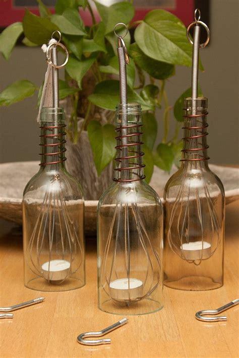 bottle crafts for wine bottle crafts wine bottle luminary hanging