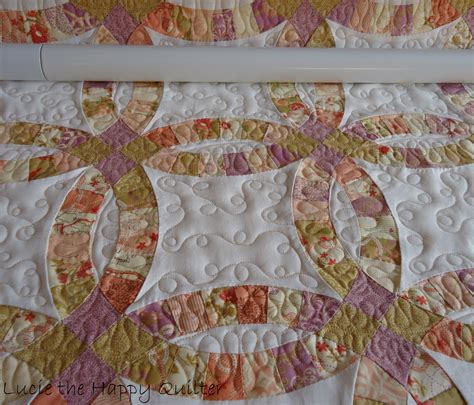 Quilting Designs For Wedding Ring by Wedding Ring Quilt The Happy Quilter S