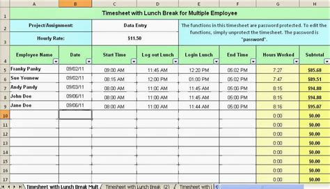 Kfed Schedules Emergency Meeting In Court by Excel Timesheet Template For Employees Aiyin