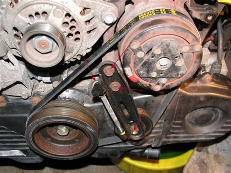 Subaru Legacy Timing Belt by 1995 Subaru Legacy Outback Timing Belt And Water