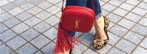 ysl monogram blogger bag review  styling tips