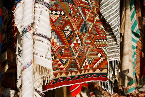 tappeti marocchini tappeti marocchini in un souk negozio della via