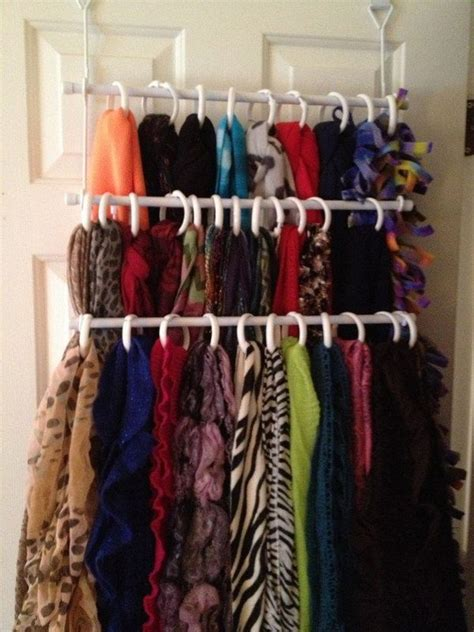 How To Organize Scarves In Closet by 40 Clever Closet Storage And Organization Ideas Hative
