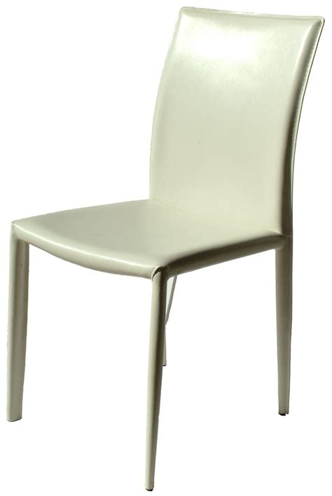White Leather Dining Chair Venice White Leather Dining Chair Chairs Home Furniture