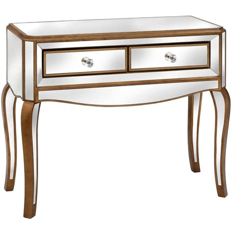 modena mirrored console table furniture from