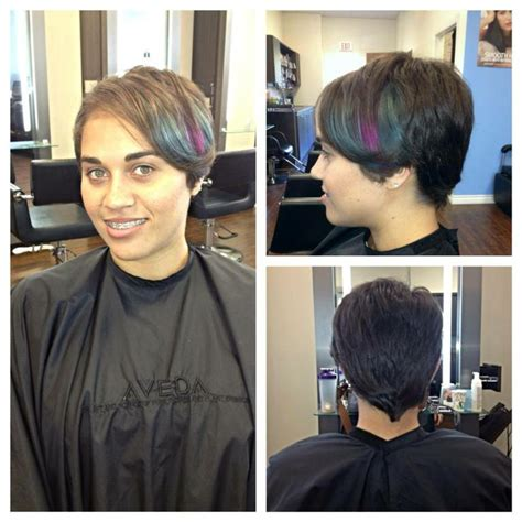highlighting pixie hair at home 17 best images about echelon salon hair on pinterest