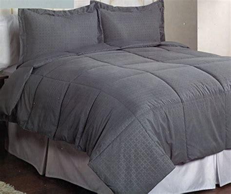 microfiber down alternative comforter keeco microfiber dobby plaid down alternative comforter