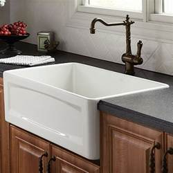 Bathroom Faucets At Lowes by Kitchen Farm Sink Hillside 30 Inch Wide Apron Kitchen