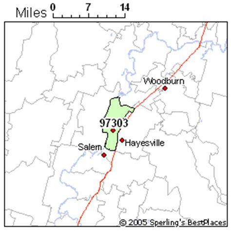 map of salem oregon zip codes best place to live in salem zip 97303 oregon