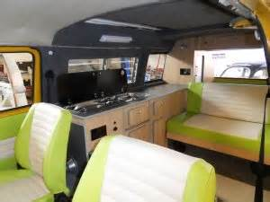 Precision Upholstery Campervan Interior Furniture For Vw T2 Bay Window