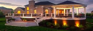 exterior design and decks outdoor deck lighting popular home decorating colors 2014